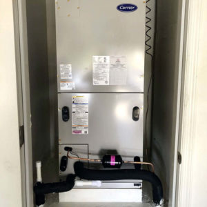 After: Heat Pump Air Handler Installation