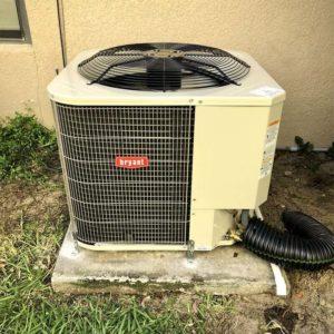 After: Heat Pump Condenser Installation